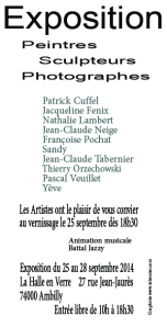 artites de france flyers verso - Copie - Copie