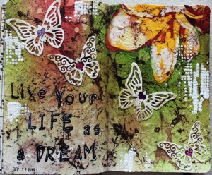 Art Journal Live your Life as a dream