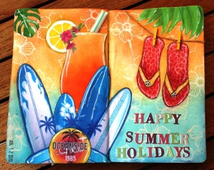 Art Journal Happy Summer