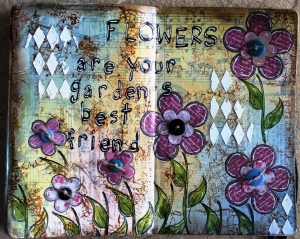 Art Journal Flowers