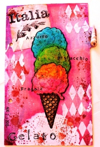 Art Journal Italia Gelato