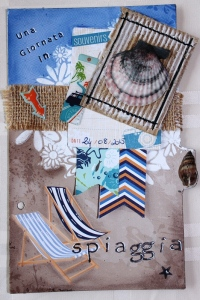 Art Journal Spiaggia