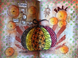 Art Journal Fall