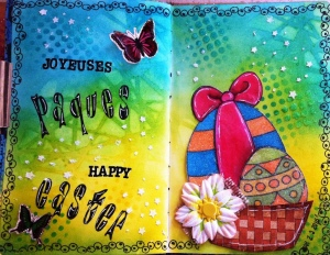 Art Journal Easter