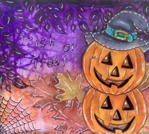 Art Journal Halloween